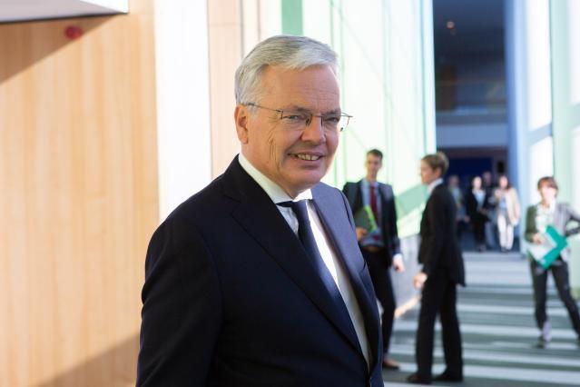 Didier Reynders, Kommissar für Justiz, Bild: EU-Kommission